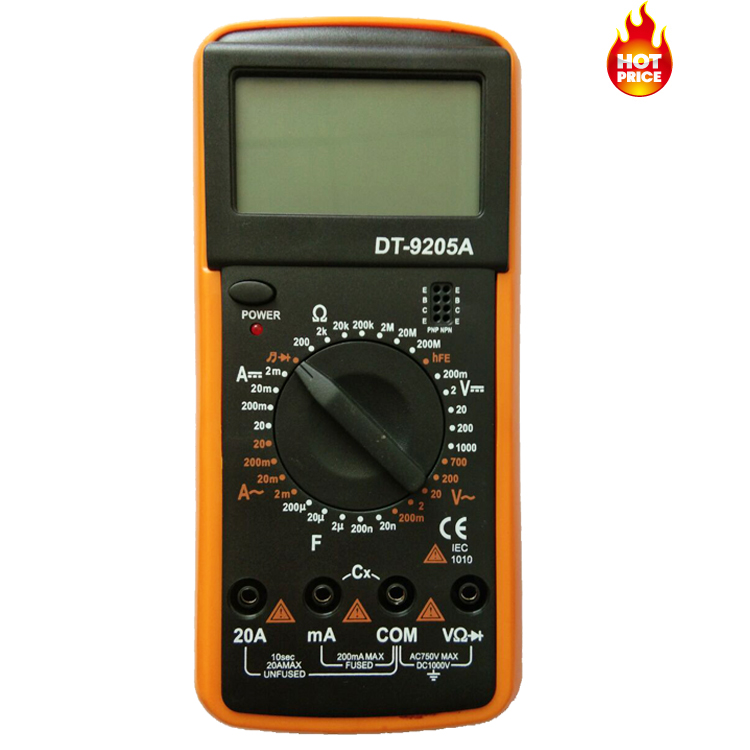 Best cheap dt9205 dt-9205a digital avometer dt9205a