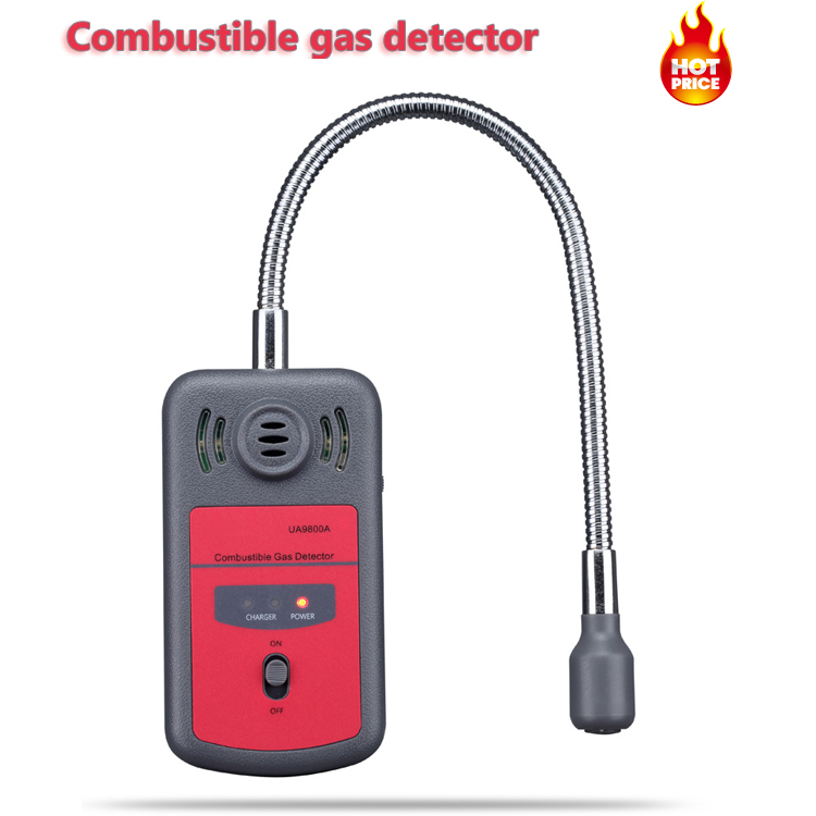UA9800A Handheld Automotive Mini Combustible Gas Detector Gas Leak Location Determine Tester with Sound and Light Alarm