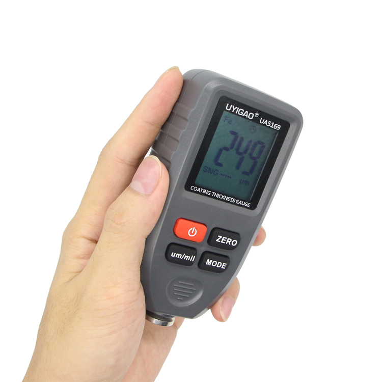 digital coating thickness gauge Automotive Coating Refinishing car Paint tester Meter