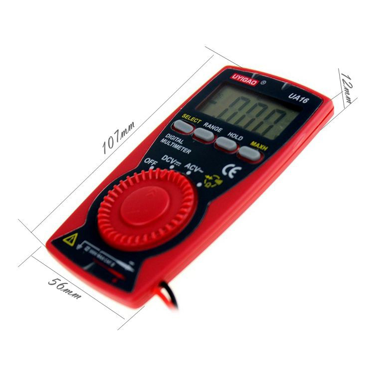 UA16 Digital Multimeter with pocket micro palm size