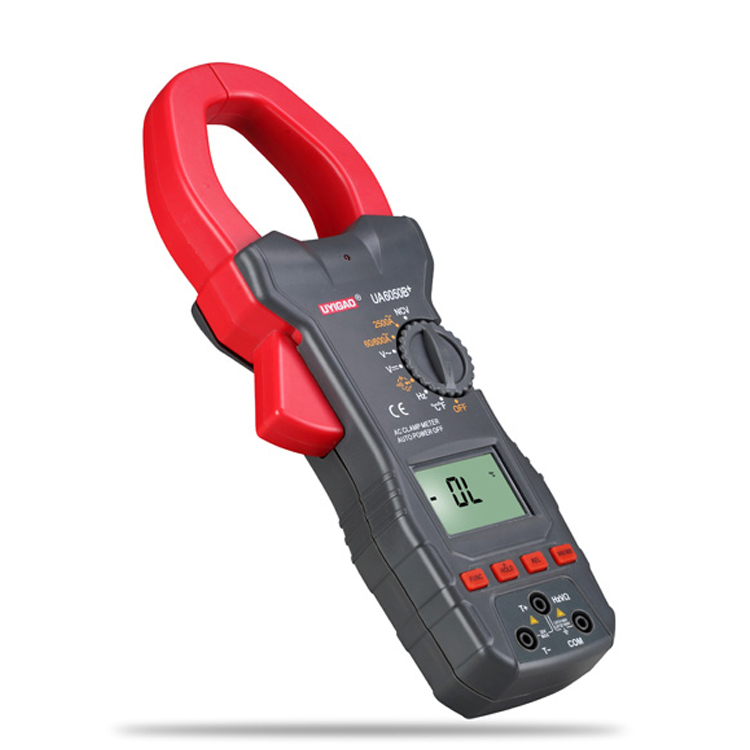 Factory price Large current 2000A Ampere AC DC NCV Digital Clamp Meter UA6050