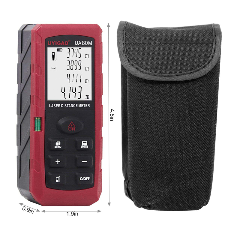 Top products laser rangefinder cheap price digital laser distance measuring meter ua80m
