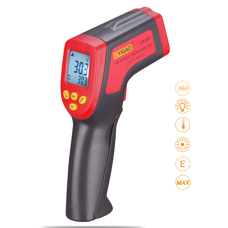 Best cheap Non Contact Laser Digital IR Infrared Thermometer Temperature Meter Gun NonContact Thermometer