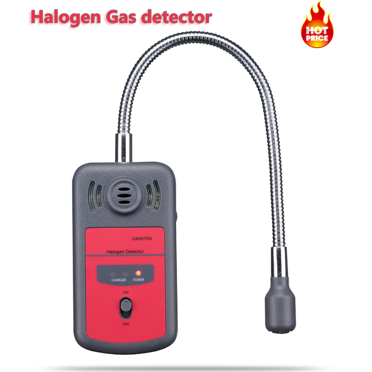 UA6070A Brand New Handheld Portable Automotive Mini Halogen Gas Leakage Detector Chlorine and Fluorine Tester with Sound alarm