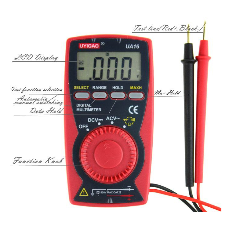 pocket digital multimeter wholesale