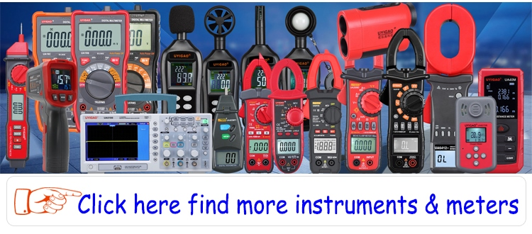 find more instruments and meters