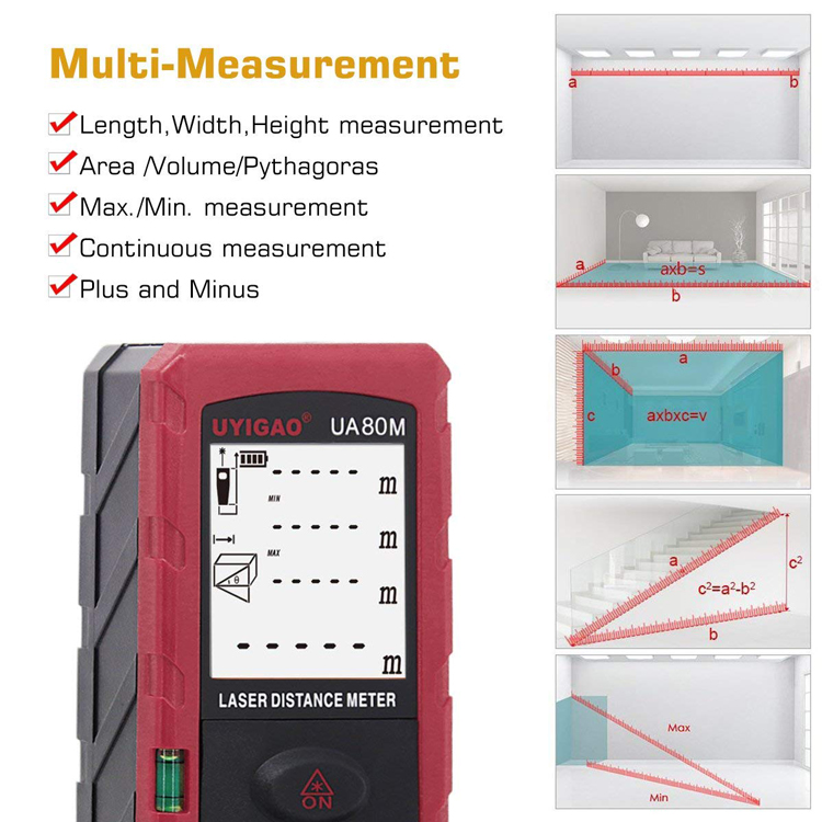 laser distance meter 80m wholesale